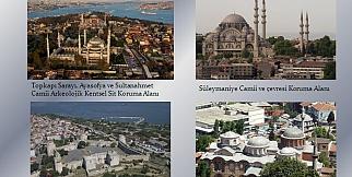 İstanbul'un Tarihi Alanları;