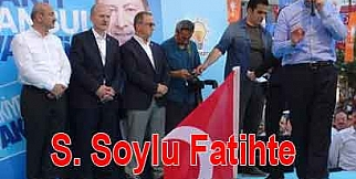 Süleyman Soylu Fatihte