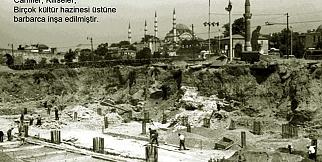 Tarihte Saraçhane meydanı