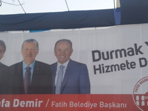 AKP Mustafa Demir Seçim Kuruluna Şikayet edildi