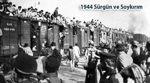 1944 Rusya'nın Kırım Türklerine düşmanlığı