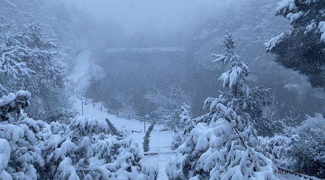 Beklenen kar yağışı İstanbula ulaştı