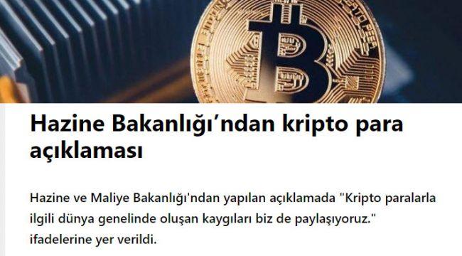 Türkiyede Kripto para hazırlığı