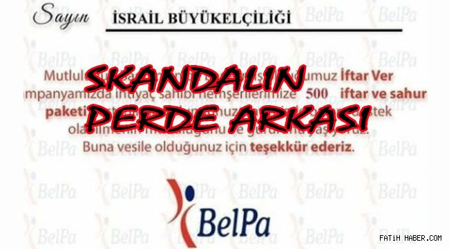 Ankara Belediyesinde İsrail Skandalı