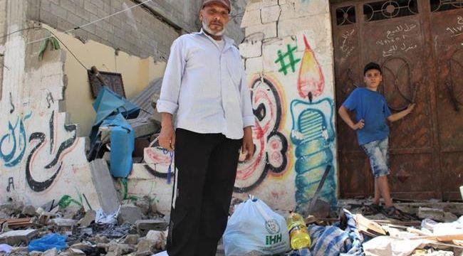 Türk halkından Filistin'e Yardım