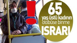 65 Yaş Üstüne Toplu Ulaşım yasaklandı ama!