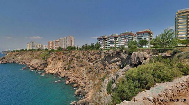 Antalya sahili Falezlere 15 katlık imar izni