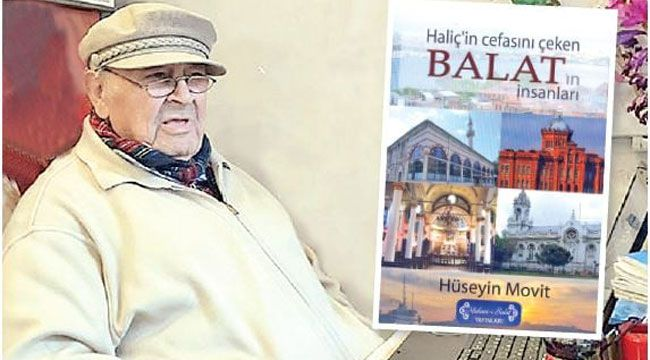 Balat'ın Sosyal tarihi Kitap oldu