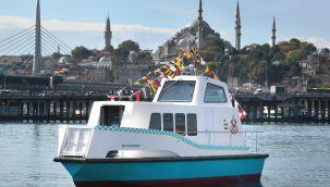 Deniz taksi hizmete başladı