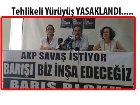 26 Temmuz İstanbul büyük yürüyüşü iptal edildi
