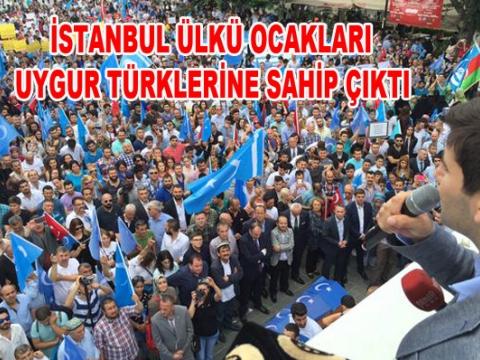 İstanbul Ülküocakları Çin Zulmünü Kınadı