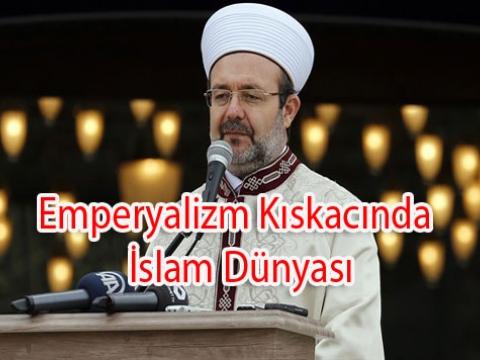 Diyanet İslamın Tehdit Altında Olduğunu Anladı