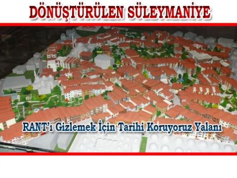 Fatih Süleymaniye Yenileme Projesi TAMAM