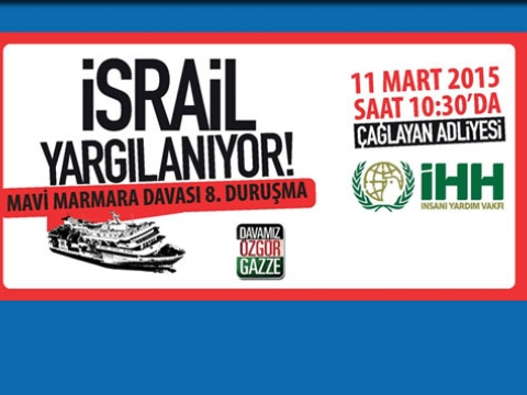 İsrail İstanbulda yargılanıyor