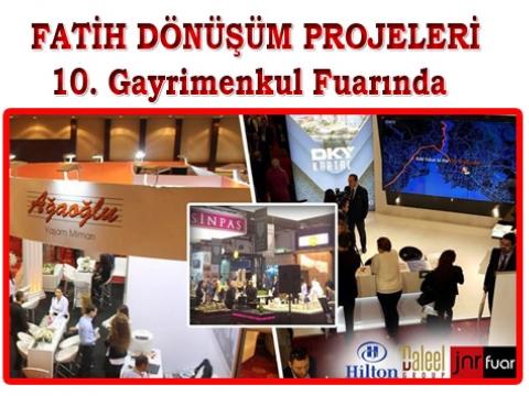 Başkan Mustafa Demir Emlak Fuarında