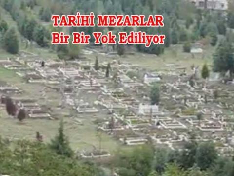 Osmanlı Anıt Mezarlarının talanı