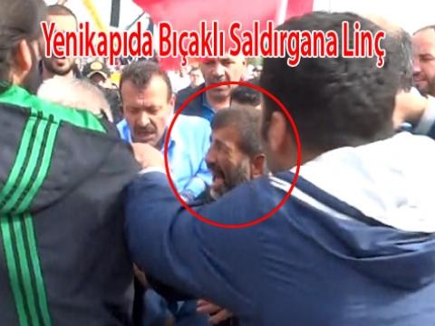 Yenikapı Fetih etkinliğinde Bıçaklı Saldırgan Yakalandı