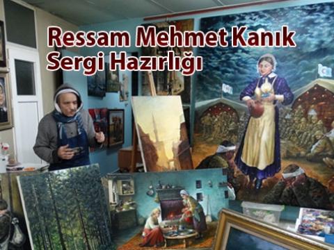 Ressam Mehmet Kanık Kanseri yendi, Yüz felci ile karşılaştı.