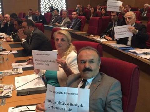 Fatih Belediye Meclisinde olaylı gündem