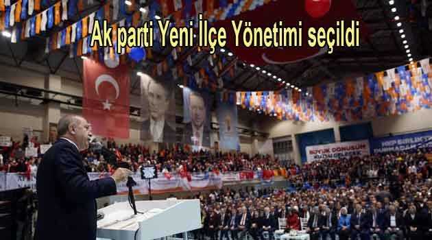 Ak parti Fatih ilçe yönetimi değişti