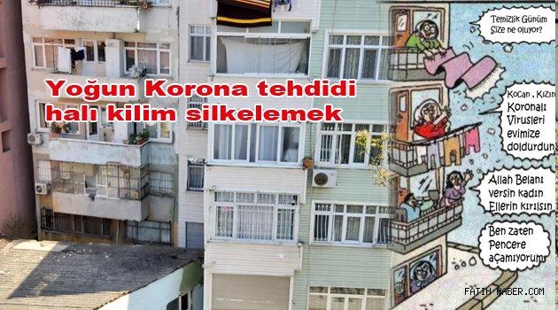 Balkon Pencereden eşya silkinmek Yasak