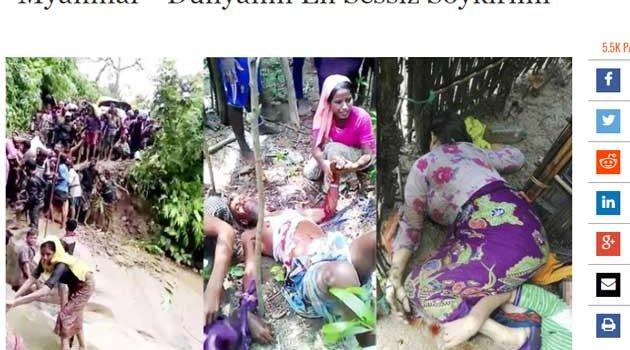 Batı medyasında  Myanmar, Arakan