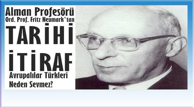 Bir Türk avrupalıya asla kendisini sevdiremez