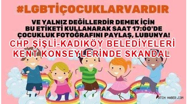 CHP'li belediyelerde LGBT