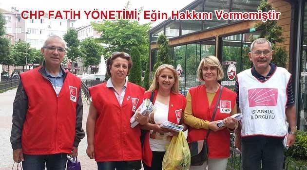 Fatih CHP ilçe örgütü ve kamuoyuna duyuru