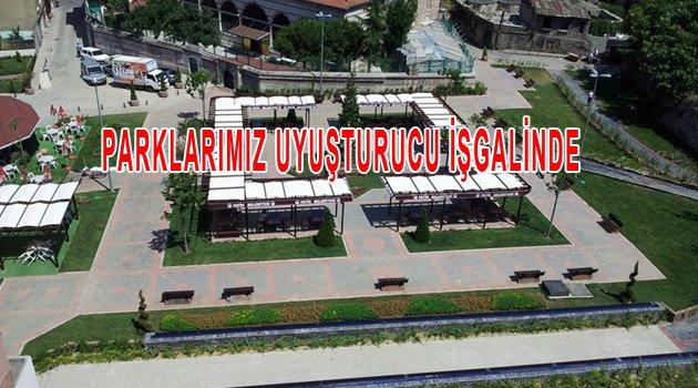 Fatih'te Parklar Uyuştucu işgalinde