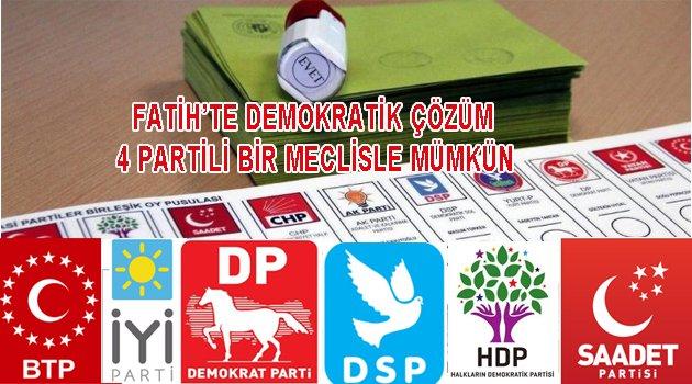 Fatih'te Yerel Seçim Stratejisi