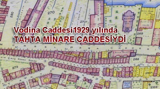 Fener Balat arasında Bir cadde Vodina.!