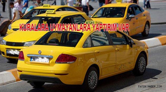 İBB Taksici denetimlerini sıklaştırdı