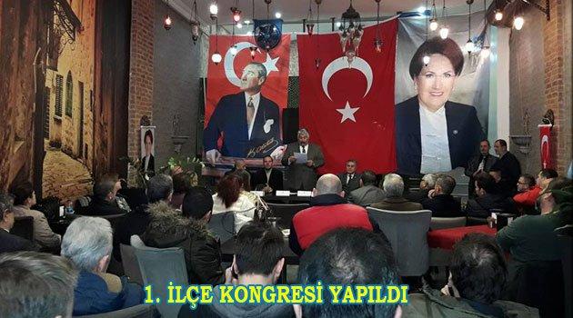 İYİ Parti Fatih'te Kongresini yaptı
