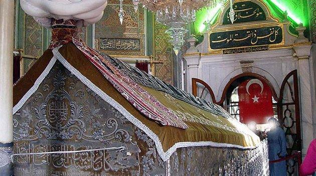 Sultan Fatih'in Türbesinde Siyon Yıldızları