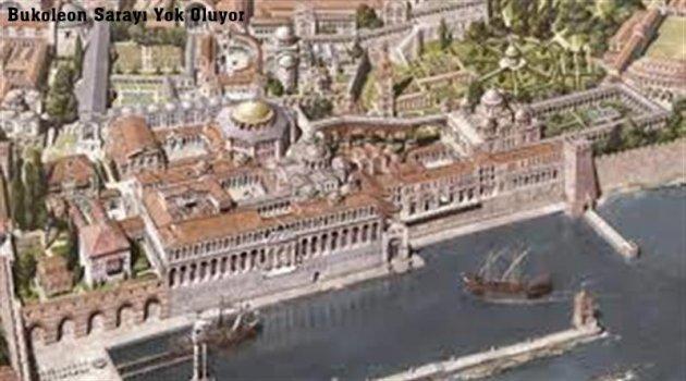 1600 Yıllık Boukoleon Sarayı Yok Oluyor