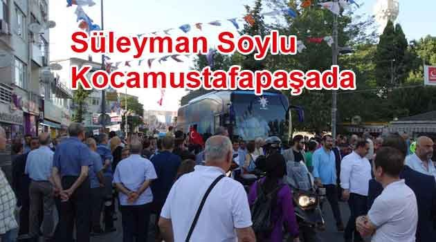 Bakan Süleyman Soylu'ya Fatihte ŞOK