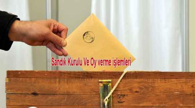 24 Haziran seçimleri Oy verme ve Sandık eğitimi: