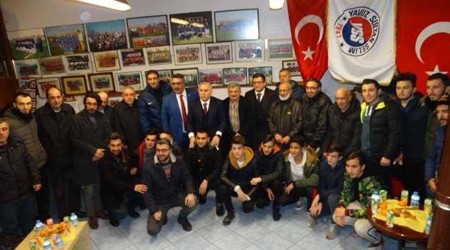Ak Parti Bel. Bşk. adayı YSS spor kulübünde