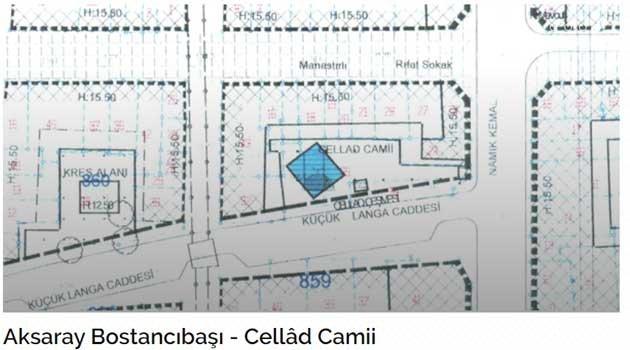 Aksaray Bostancıbaşı - Cellâd Camii