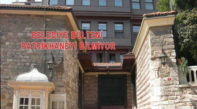 Fatih Belediye Bülteninde Bilgisizlik