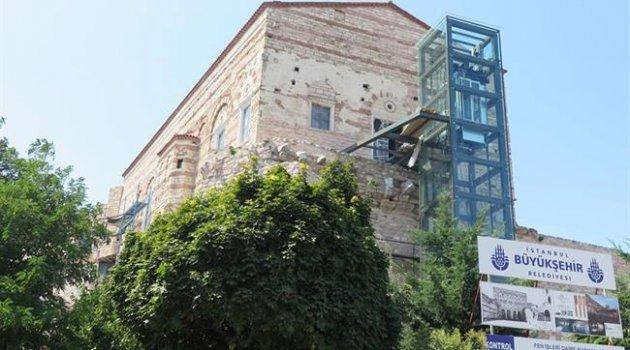 Bin yıllık Bizans sarayına modern eklemeler