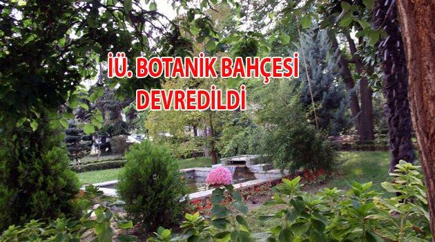 Botanik Bahçe Müftülüğe Devredildi