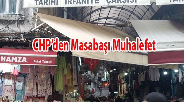 Chp Fatih Vatandaşı mağdur ediyor