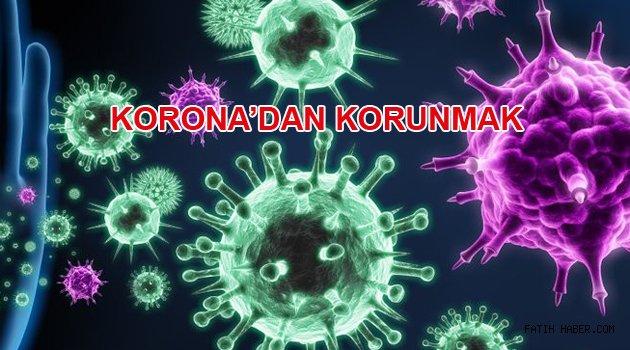 Corona Virüs ile bireysel mücadele