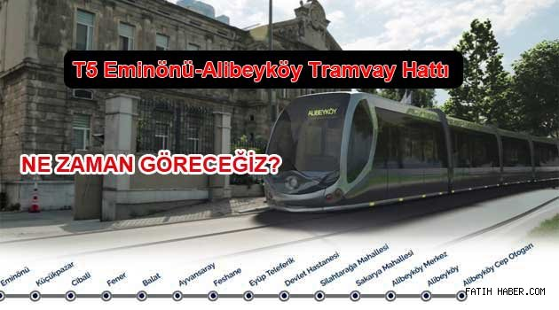 Eminönü – Alibeyköy Tramvay Hattı