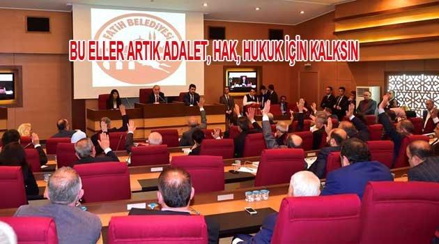 Fatih Belediye Başkanı Sayın Ergun Turan'a