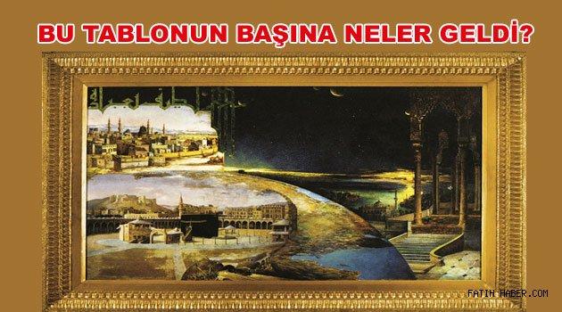 Fatih Camiindeki Muhteşem tablonun hikayesi