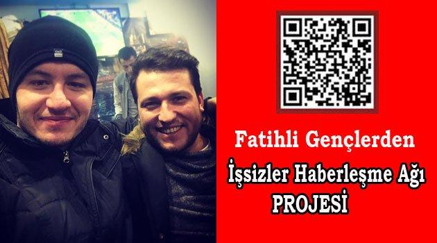 Fatih'li Gençlerden İşsizlik Projesi