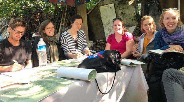 Gülay Yedekçi'den Alman öğrencilere ders